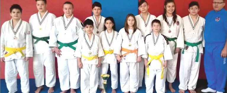 Micii judoka au cucerit primele medalii ale anului