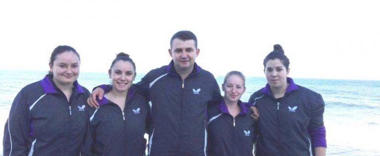 Fetele CSM-ului, în semifinalele Superligii la tenis de masă