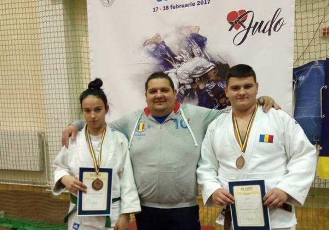 Aur pentru judoka arădeni la Naționalele sub 18 ani