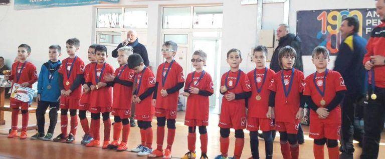 Puştii de la Viitorul Arad au câştigat Cupa de Iarnă