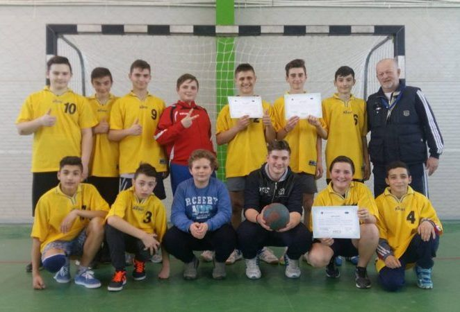 Sântana a câștigat Gimnaziada băieților la handbal!