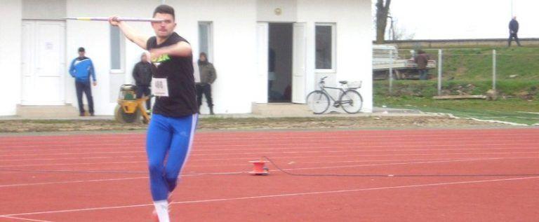 Raul Rusu a urcat pe podiumul naţional al tineretului