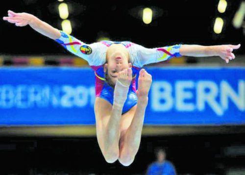 Olivia Cîmpian – graţie şi eleganţă la Europenele de gimnastică