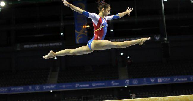 Arădeanca Olivia Cîmpian continuă gimnastica în Ungaria