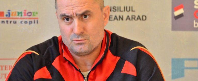 Roland Nagy este coordonatorul clubului Viitorul Arad