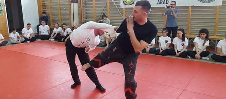 Maestrul Valentin Macsim, instructor în stilul lui Bruce Lee