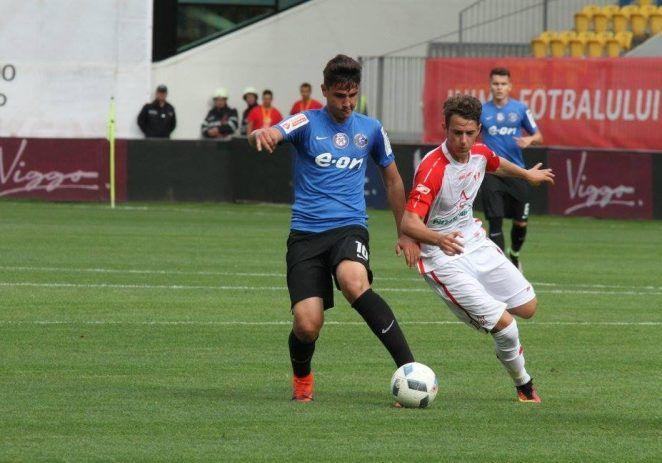 Juniorii roş-albi, învinşi la penalty-uri în finala Cupei