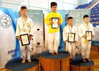 An competiţional încheiat cu medalii, pe tatami