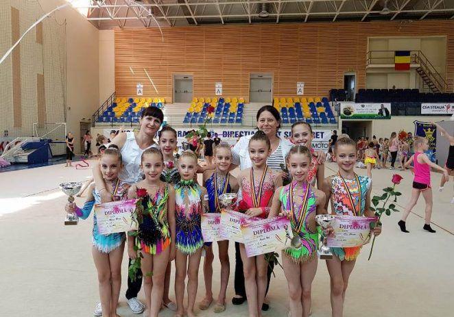 Aur pentru micuțele gimnaste arădene!
