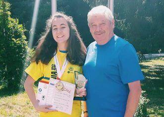 Daria Haristiade, record personal la un concurs de tir în Cehia