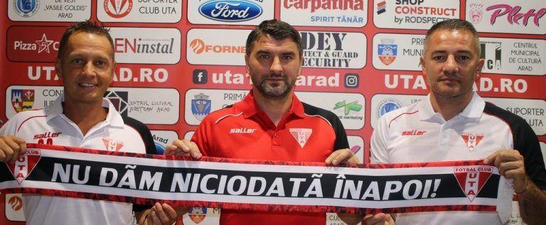 UPDATE: Adrian Mihalcea este noul antrenor al UTA-ei!