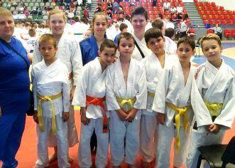 Judoka de la CSM Arad, pe podium la Cupa Speranţelor