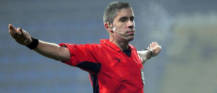 Arbitru internaţional, delegat la barajul pentru Liga 1