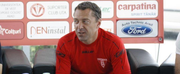 Laurenţiu Roşu şi-a reziliat contractul cu UTA