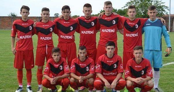 Unirea Sîntana, locul 4 la turneul semifinal al juniorilor