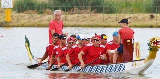 Voinţa Arad, pe podium la Europenele dragon boat