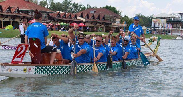 Sportivii CSM-ului s-au remarcat la Europenele dragon boat