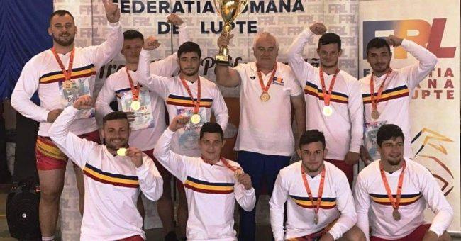CS Astra e campioană naţională la lupte greco-romane