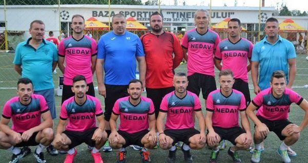 Arădenii de la FC Nedav au câştigat turneul zonal de minifotbal