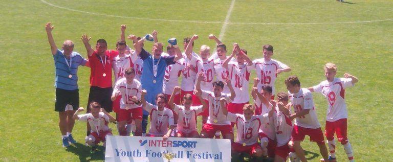 Juniorii utişti au câştigat trei trofee la Festivalul Fotbalului