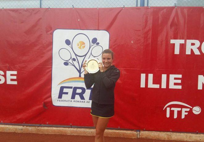 Gabriela Ruse a cucerit trofeul Ilie Năstase, la ITF Arad