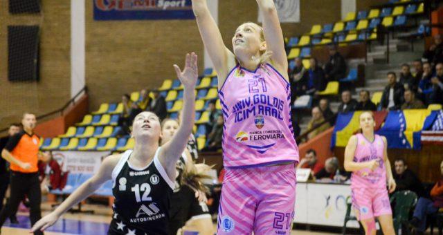 Ildiko Nagy continuă încă un sezon la Univ.Goldiş ICIM
