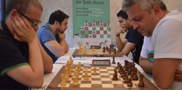 Un maestru sârb conduce după primele runde la Arad Open