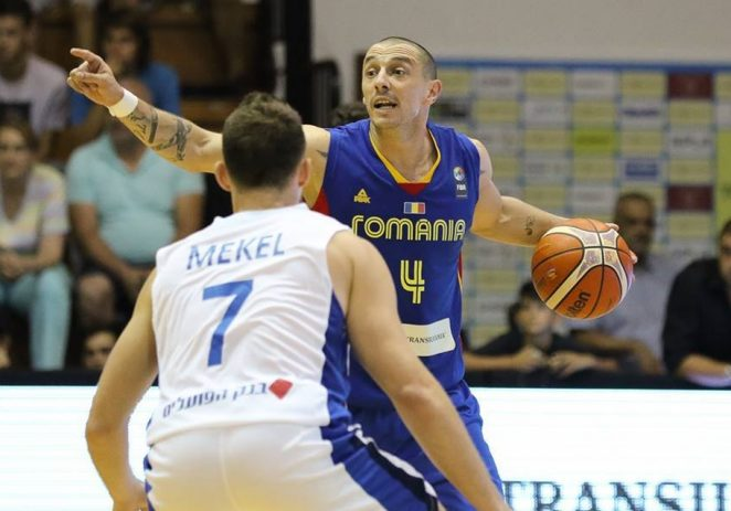 Arădeanul Andrei Mandache a scris istorie la Eurobasket