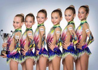 Gimnastele de la ritmică au impresionat la Gemi Arad Trophy