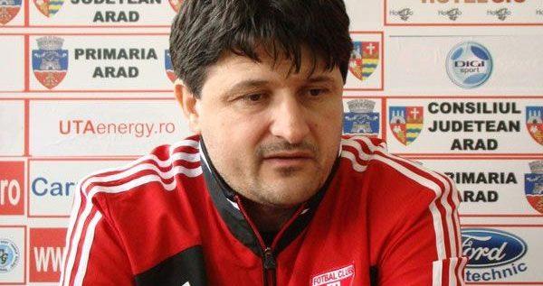 UPDATE: Adrian Falub este noul antrenor al UTA-ei