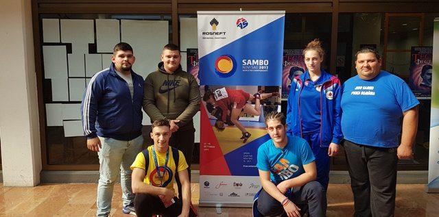Judoka arădeni au concurat la Mondialele de sambo