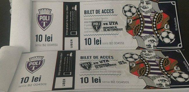 De miercuri se găsesc şi în Arad bilete la Poli – UTA!