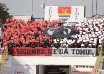 Suporterii UTA-ei pregătesc inaugurarea stadionului!
