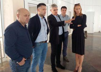 """Camelia Potec, la Arad: """"Există condiţii pentru performanţă"""""""