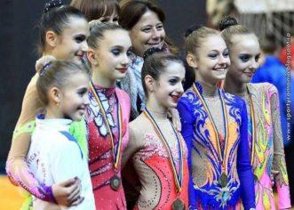 CSM Arad are cinci gimnaste în Top 10 al ritmicii!