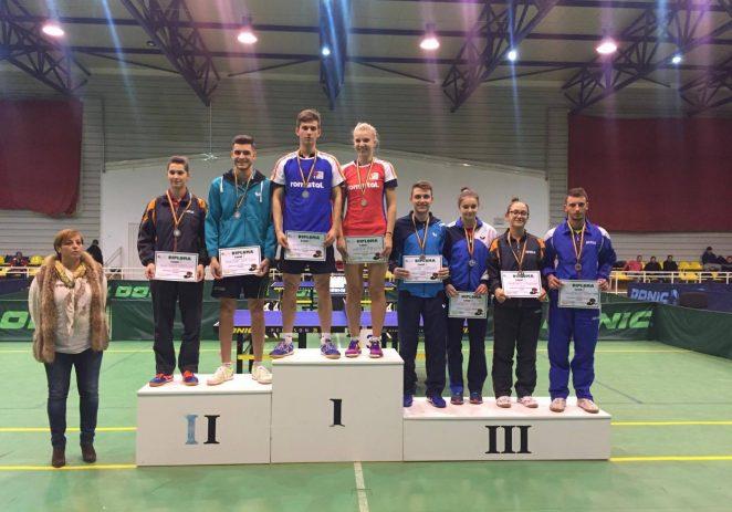 Paul Mladin a urcat pe podiumul naţional de tineret