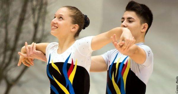 Gimnaştii universitari, în top la Naţionalele de aerobic