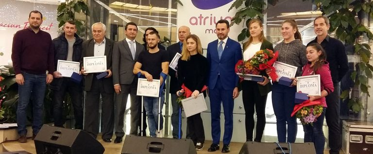 Performerii anului au fost premiați la Gala Sportului Arădean