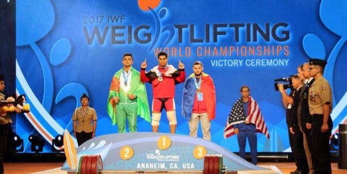 Halterofilul Dumitru Captari a urcat pe podiumul mondial
