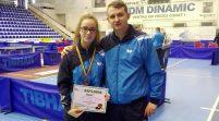 Medalie arădeană la Cupa României de tenis de masă