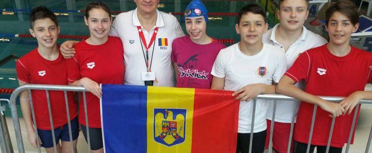 Înotătorii CSM-ului au urcat pe podium în Elveția