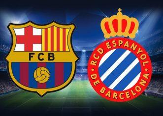 Barcelona-Espanyol- duel incrancenat pentru accederea in semifinalele Cupei Spaniei