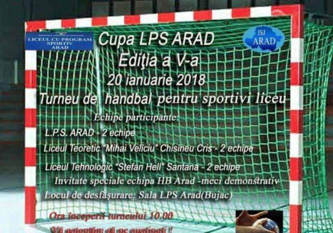 "Cupa ""LPS"" la handbal ajunge la ediția a V-a"