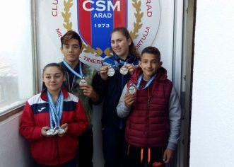 Cinci halterofili ai CSM-ului sunt convocați sub tricolor