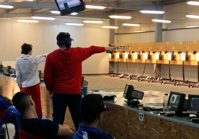 Pistolarul Casian Codrean își dorește o medalie europeană