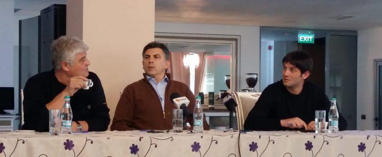 """Ionuţ Lupescu, la Arad: """"Sunt sigur că voi câştiga din turul 1!"""""""