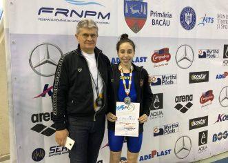 Înotătoarea Andreea Popescu, performeră la Naţionale!