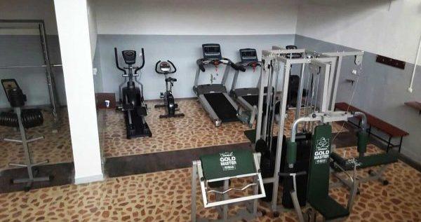 Noua sală de fitness, una din realizările conducerii DJST-ului