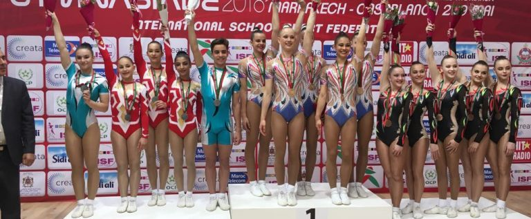 Gimnast de la CSU Arad, pe podium la Gimnaziadă