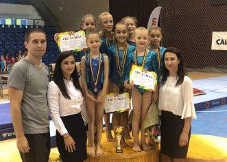 Micile gimnaste arădene sunt campioane la 9 ani